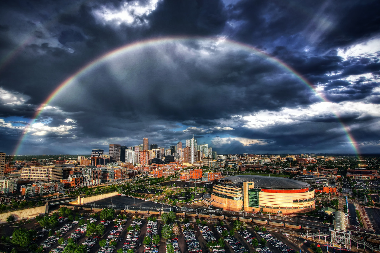 Photograph Rainbow over Denver by Greg Thow on 500px