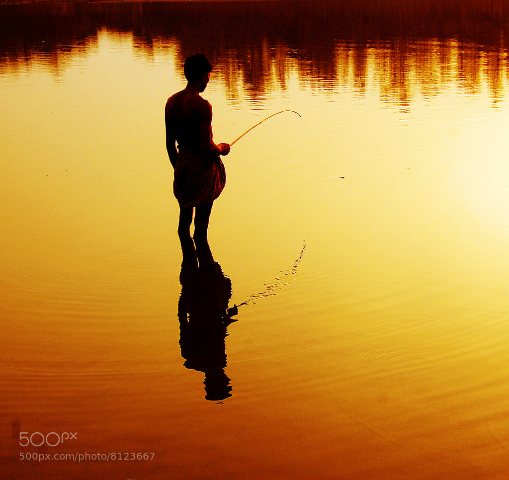 Photograph Fishing at evening  by Motiur Rahman on 500px