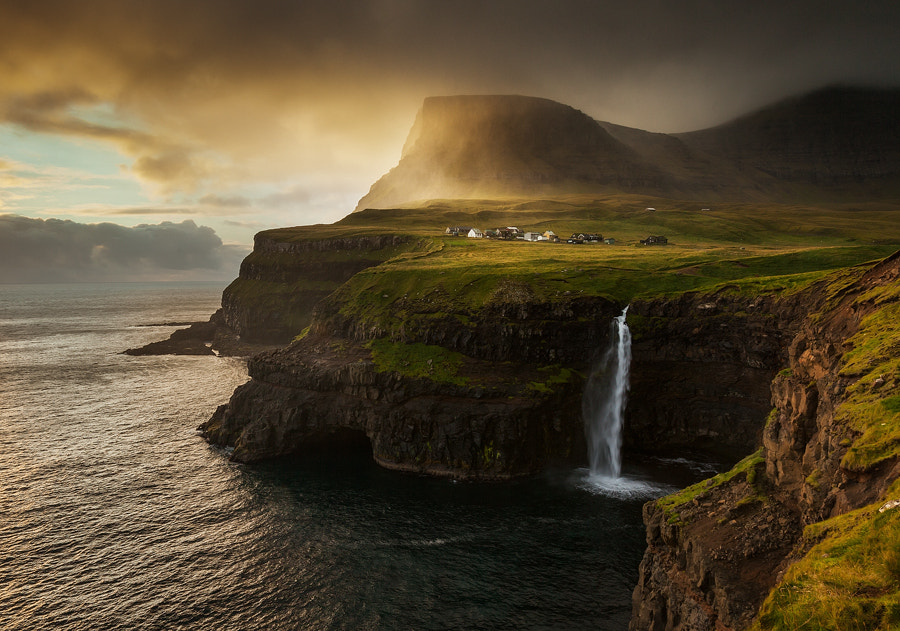 Photograph Gasadalur by Graeme Kelly on 500px