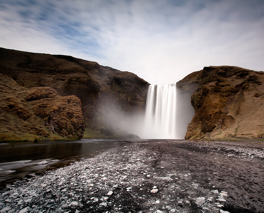 Photograph Skógafoss, Iceland by Miles Storey on 500px