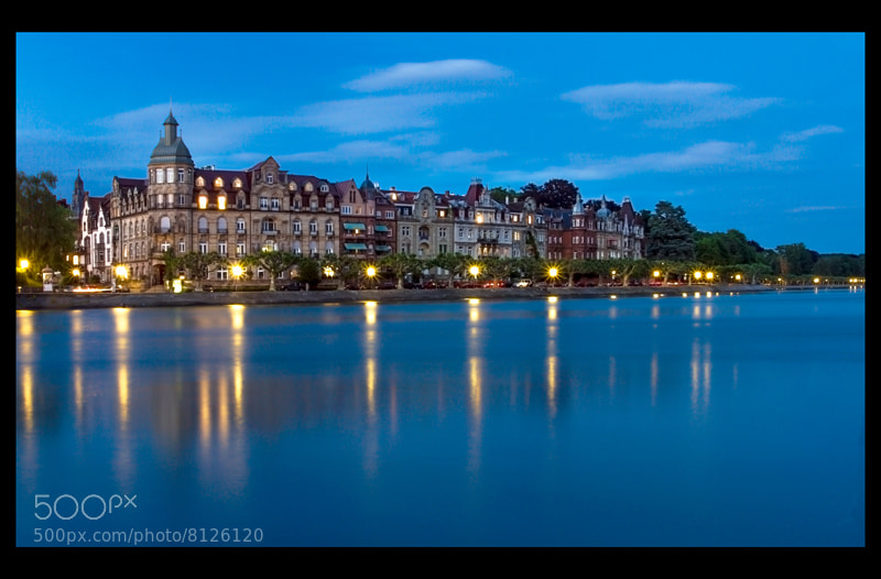Photograph Konstanz in blue by Tobias  Ortmann on 500px