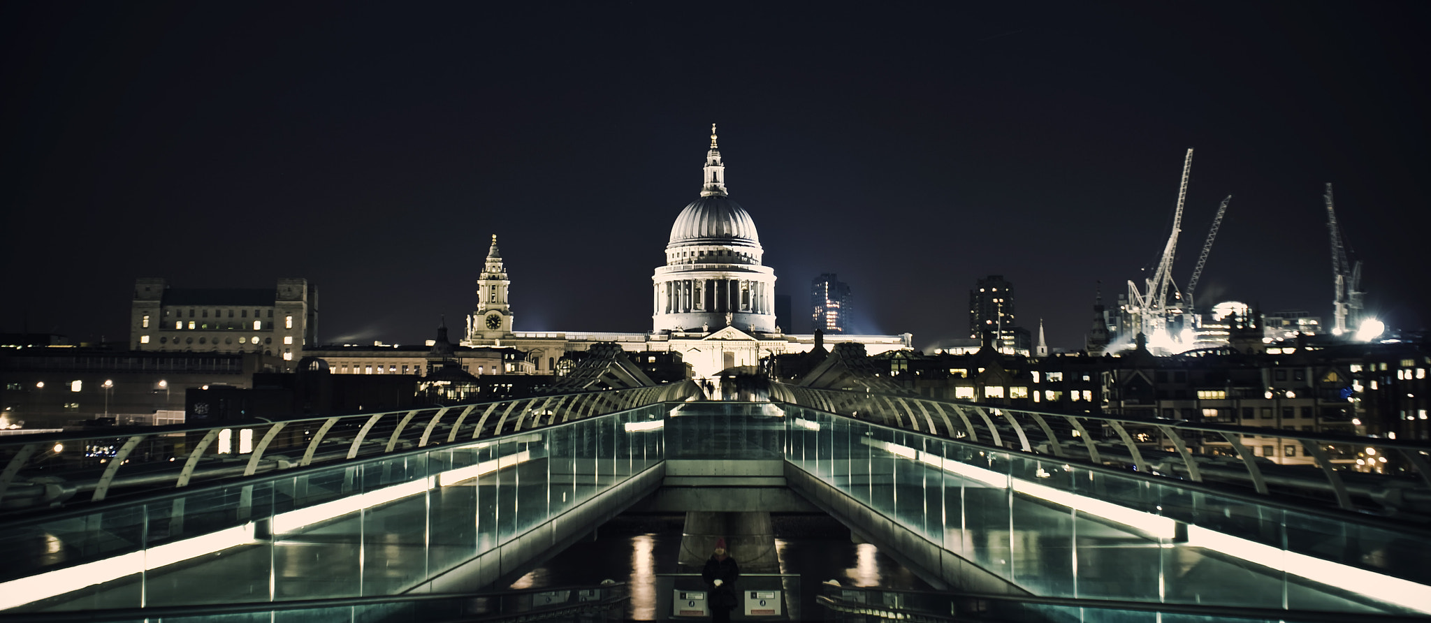 Photograph St Pauls at night by Steve Clancy on 500px