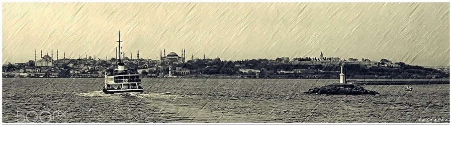 Photograph engraving city by Levent Yersal on 500px