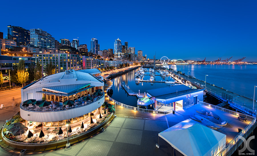 Seattle, Pier 66 by Daniel Cheong on 500px.com