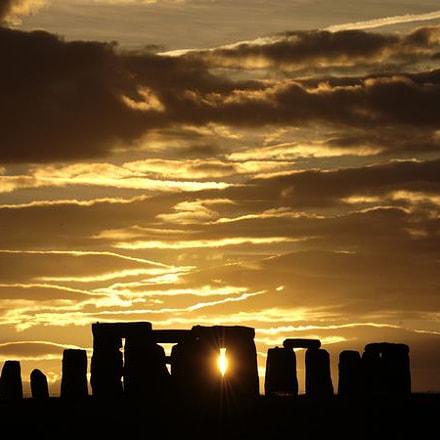 Stonehenge Sunset!