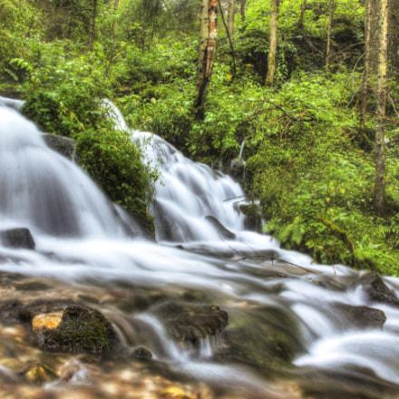Slovak tiny waterfall