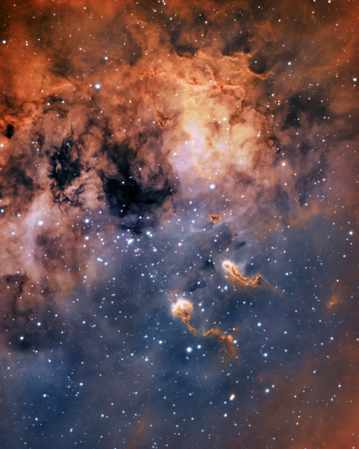 The Tadpoles nebula - Beauty in space by Sara Wager on 500px.com
