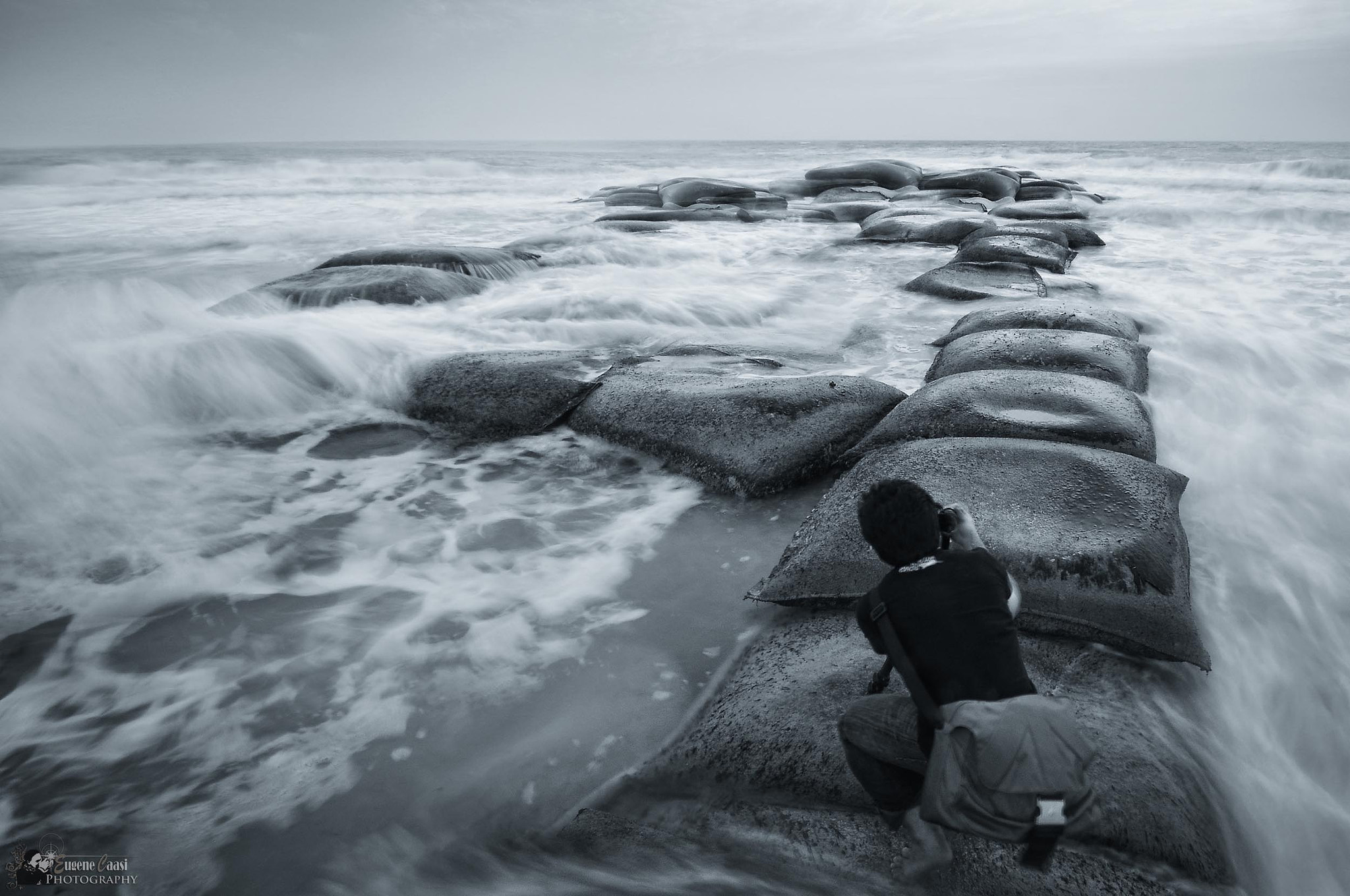 Photograph IN AWE OF THE ROARING TIDE by Eugene Caasi on 500px