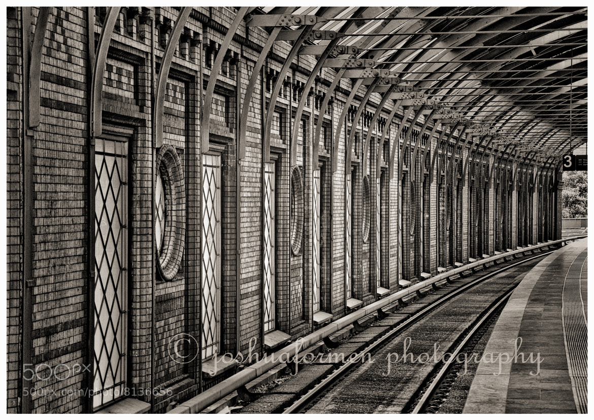 Photograph Railtrack and wall  by Joshua Formentera on 500px