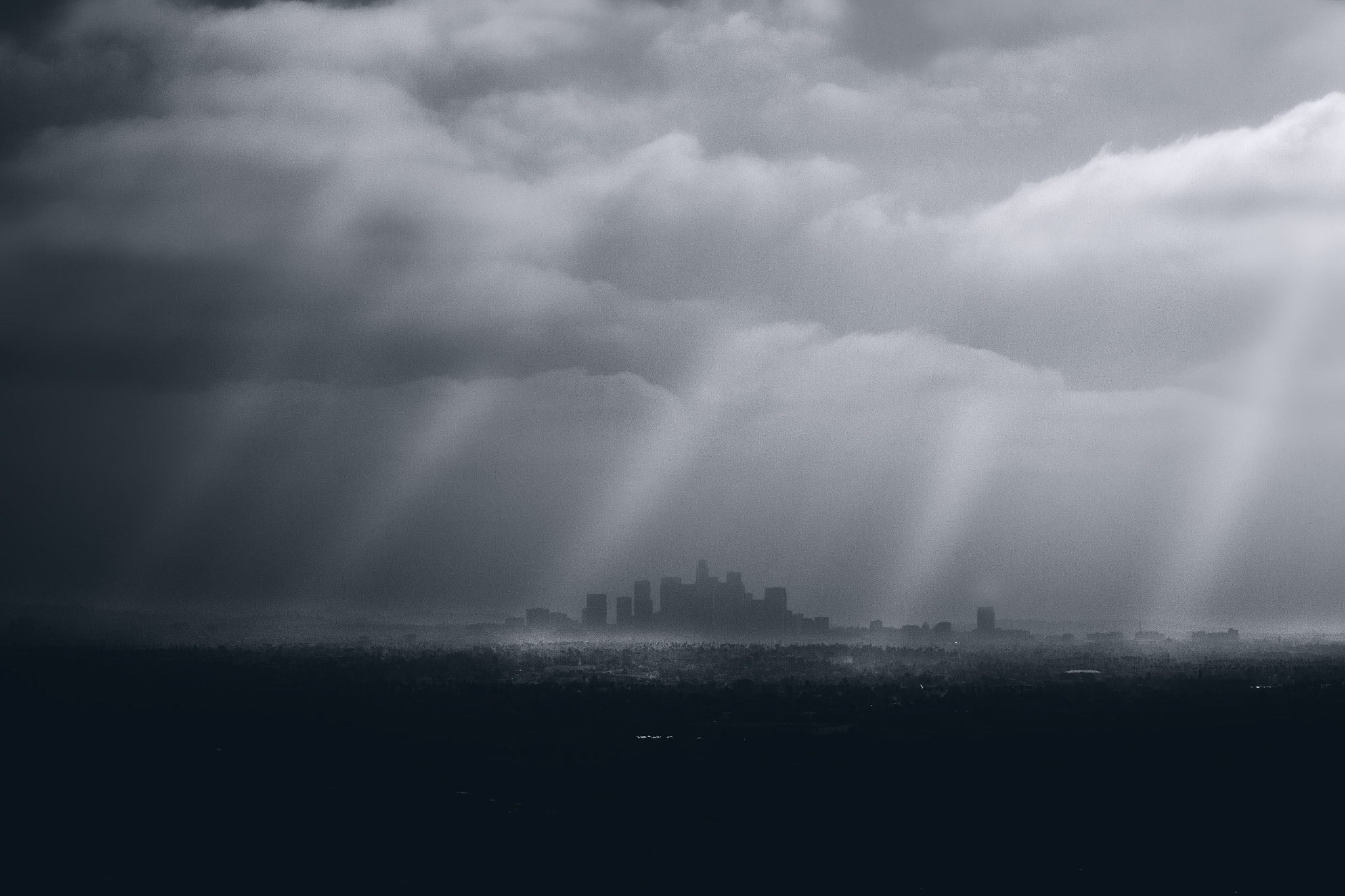 Photograph City of the Angels (B&W) by Jason Moskowitz on 500px