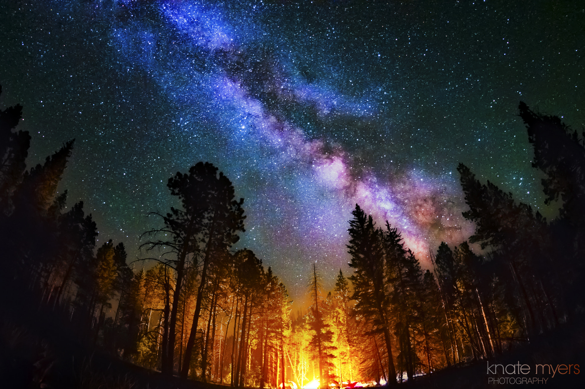 Photograph Camping Under the Stars by Knate Myers on 500px
