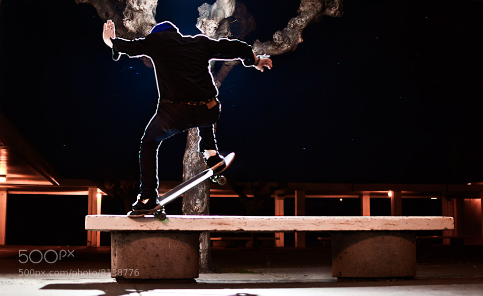 Photograph midnight nosegrind by Danny Vazquez on 500px