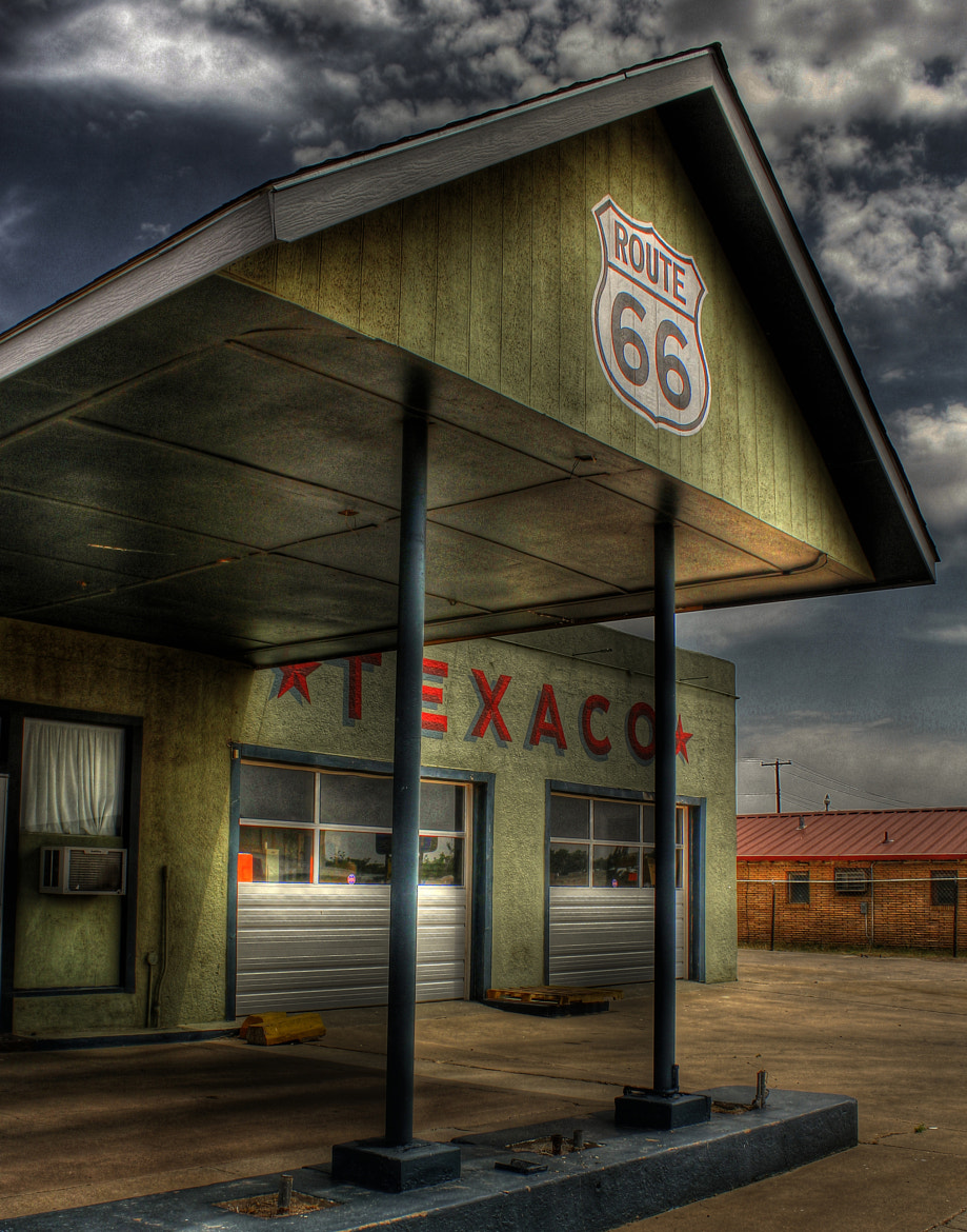 Photograph Gas Station by Thomas Neubauer on 500px