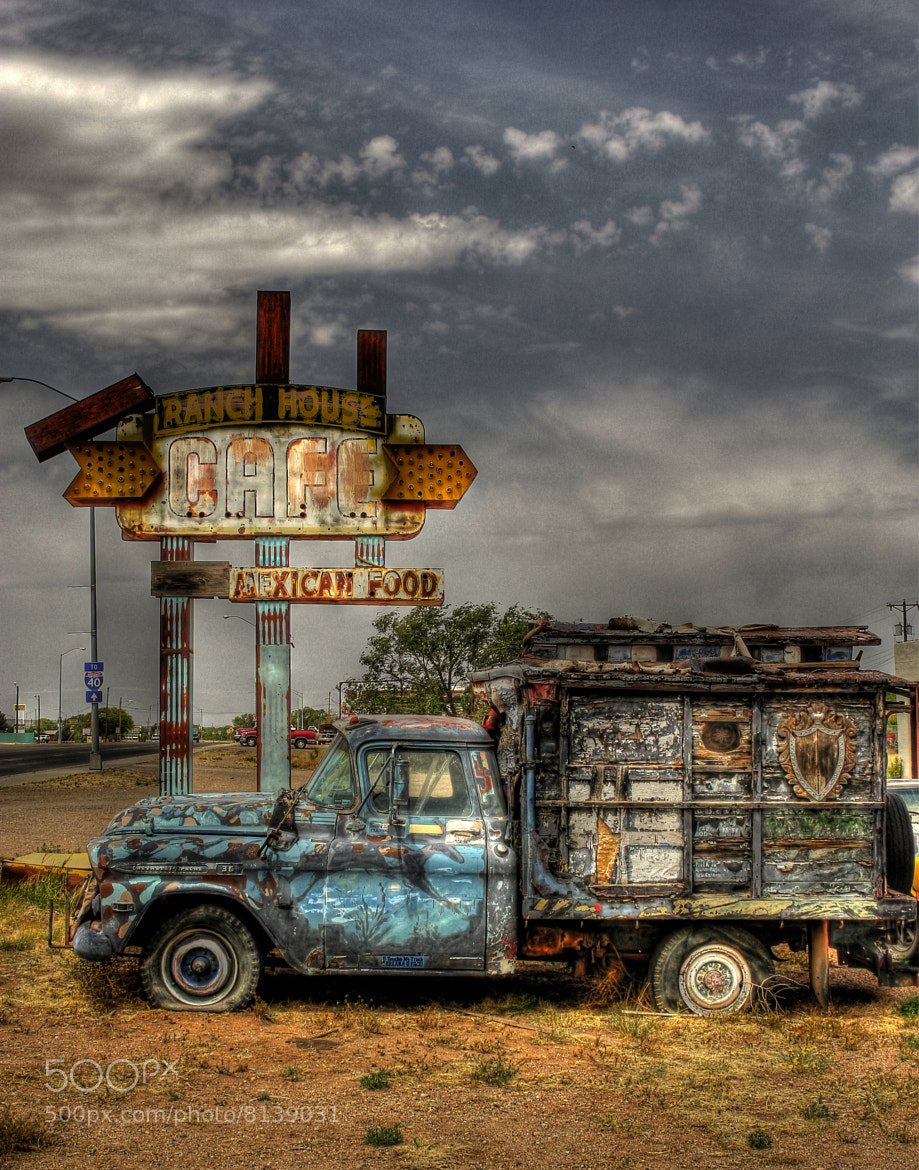 Photograph Painted Truck by Thomas Neubauer on 500px