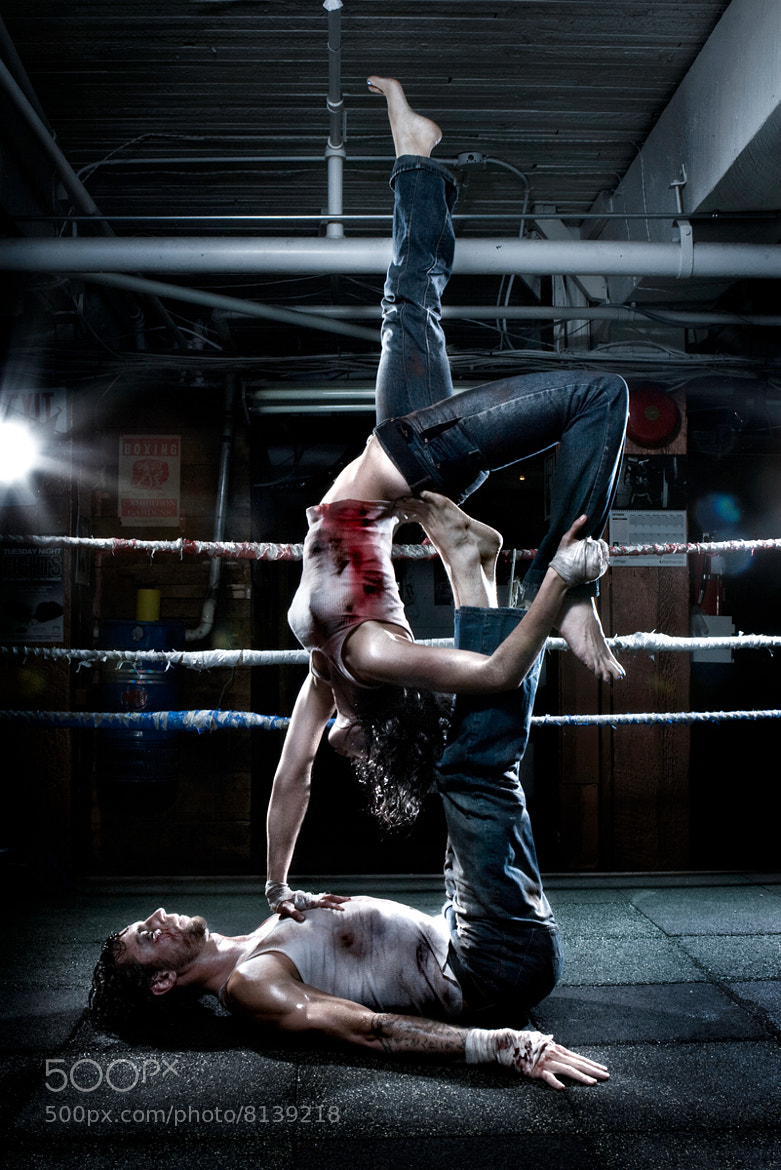 Photograph Yoga meets Fight Club by martin prihoda on 500px