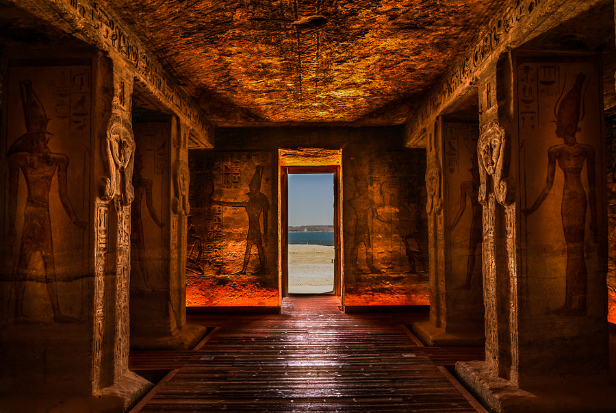 Inside Abu Simbel Temple by Pascal Dufour on 500px.com