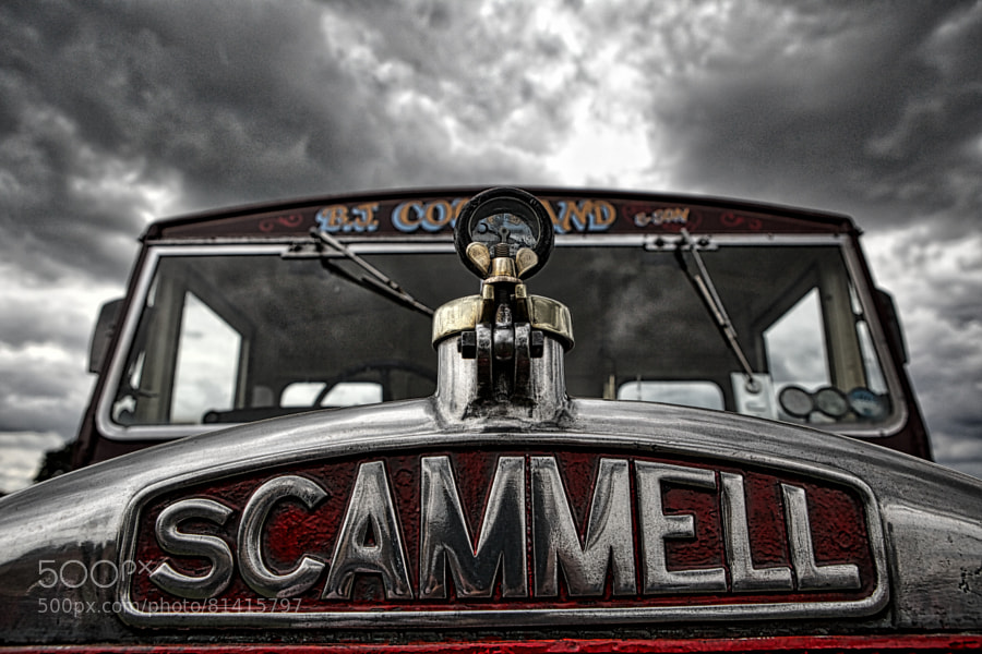 Photograph Scammell Truck by Eoin Looney on 500px