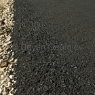 Постер, плакат: Newly built asphalt road