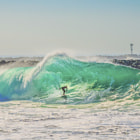 ������, ������: Surfer at The Wedge