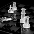 Постер, плакат: In life unlike chess the game continues after checkmate