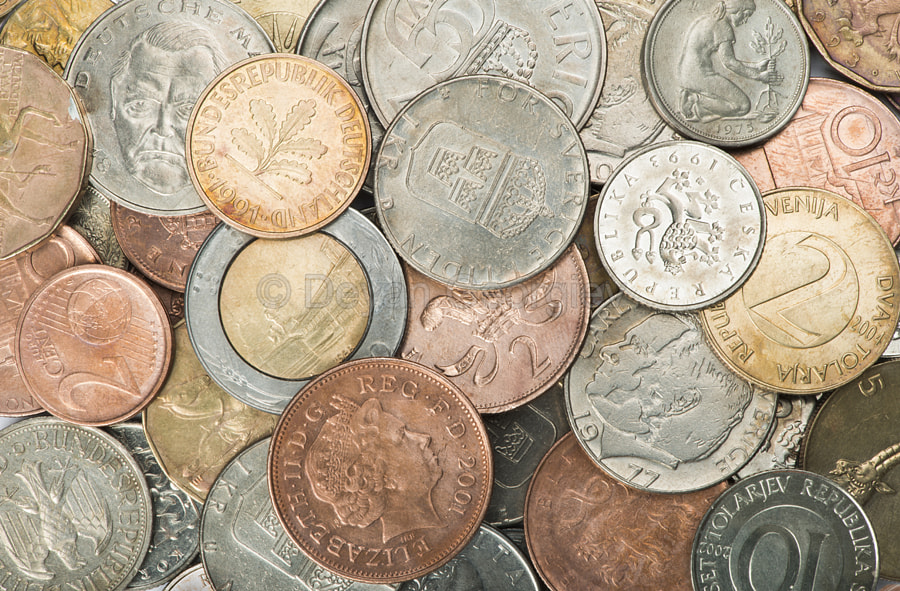 Photograph Stacks of coins by Deyan Georgiev on 500px