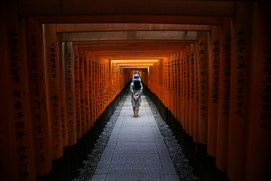 Fushimi-Inari Taisha Kyoto Japan by woo smallai on 500px.com