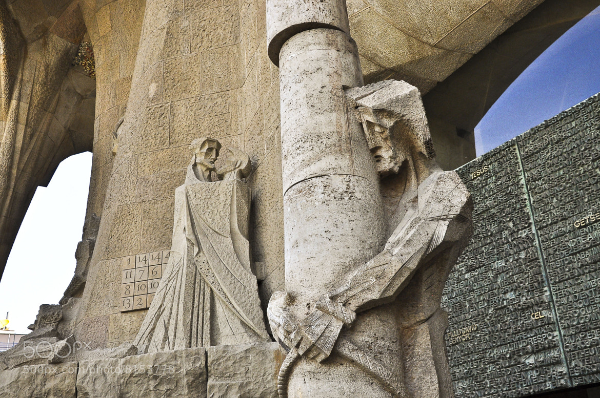 Photograph Betrayal and Death of Jesus in Sagrada Familia Spain by David Yang on 500px