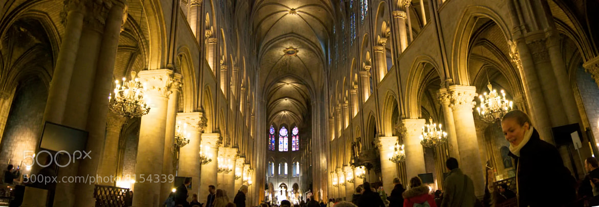 Photograph Notre Dame Panoramic by Ron Kaplan on 500px
