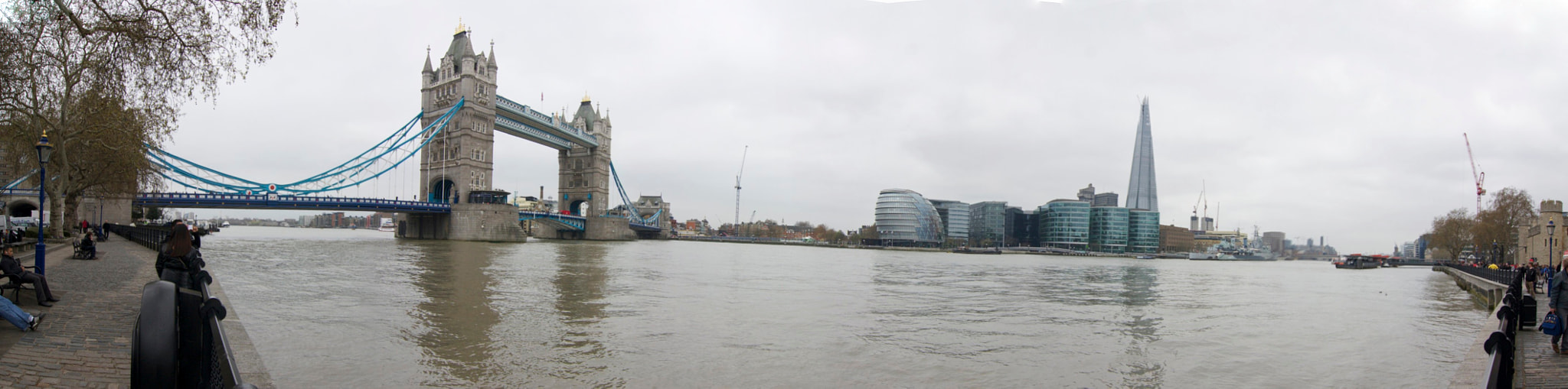 Photograph Pano of Thames River by Ron Kaplan on 500px