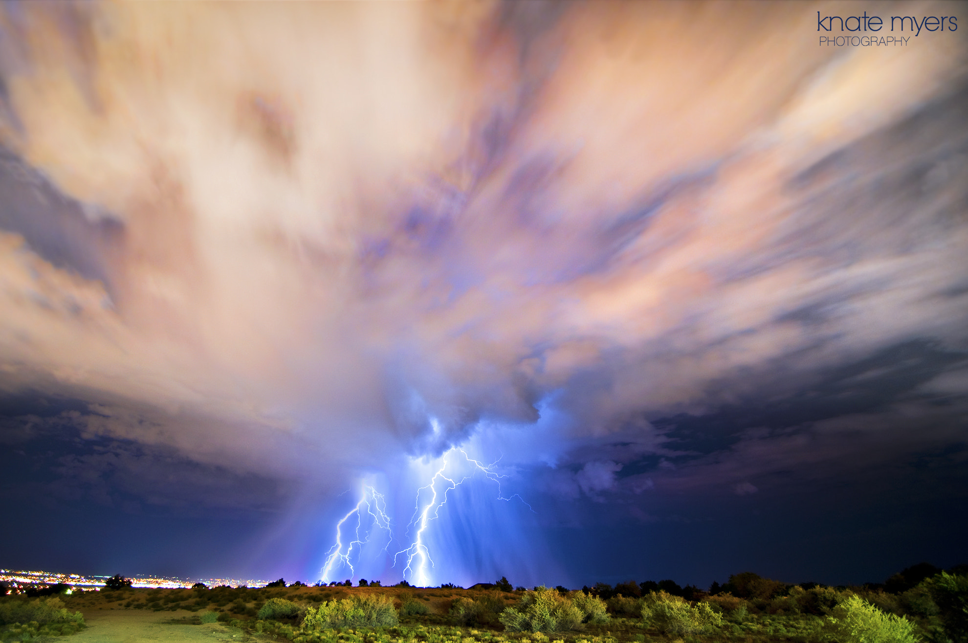 Photograph Albuquerque Lightning by Knate Myers on 500px