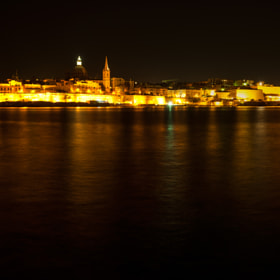 Night panorama of Valletta by Joe Borg (joeborg)) on 500px.com