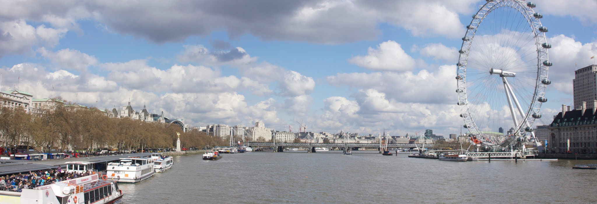 Photograph Pano Thames and London Eye by Ron Kaplan on 500px