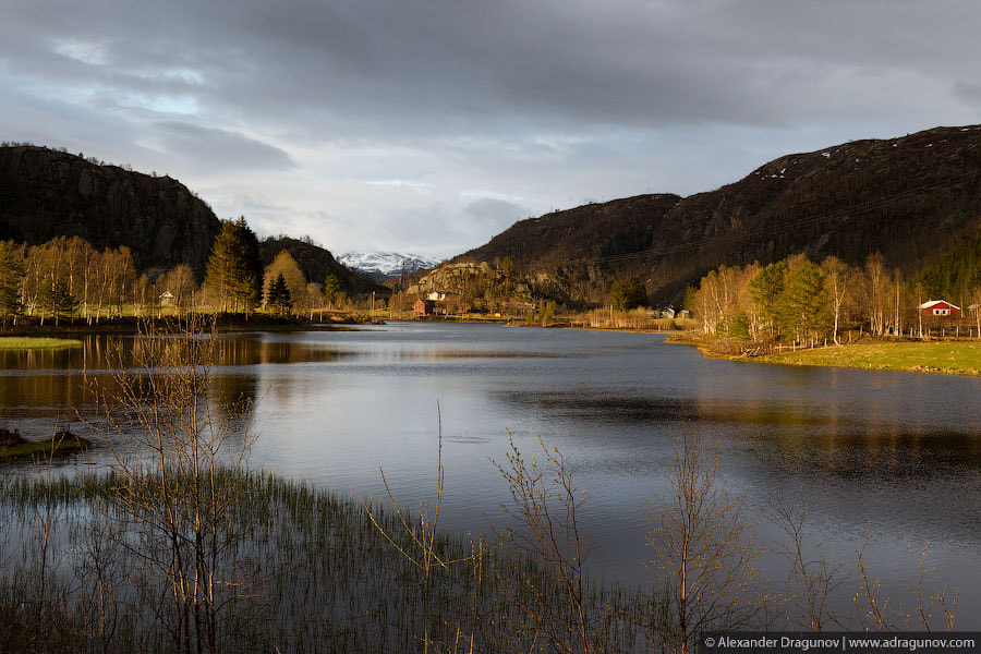 Photograph Evening colors of Norway by Alexander Dragunov on 500px