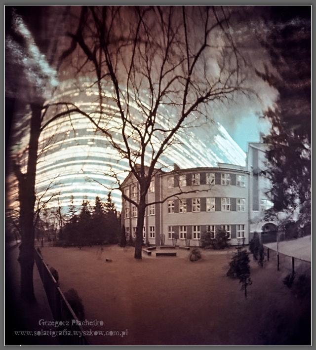 Solargraphy Wyszków by Grzegorz Płachetko on 500px.com