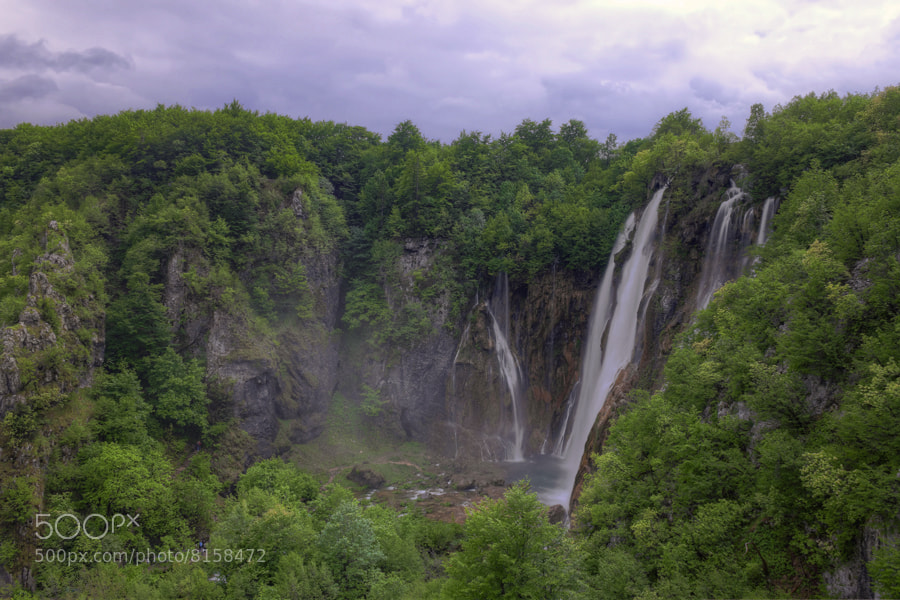 Photograph Big waterfall by Tomislav Gašparović on 500px