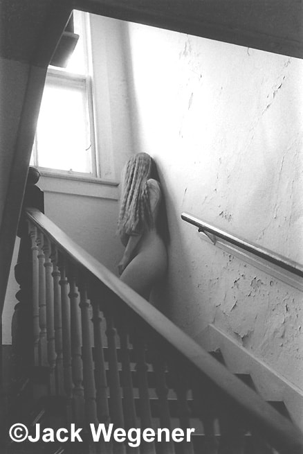Photograph Nude on Staircase by Jack Wegener on 500px