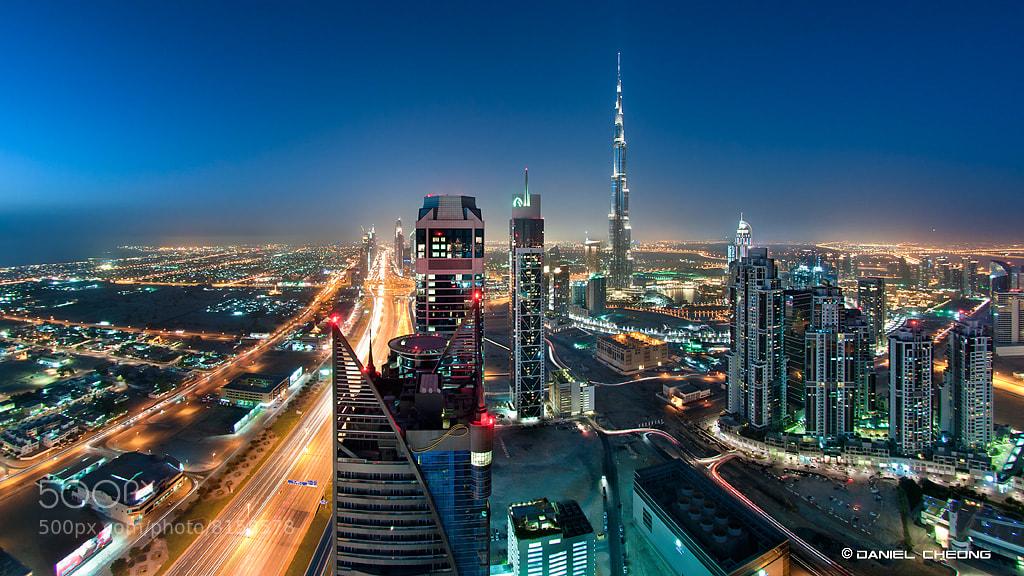 Photograph The Veins Of Dubai #3 by Daniel Cheong on 500px