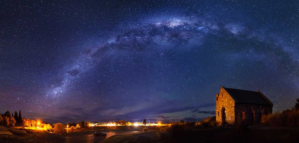 Photograph Beneath the Milky Way by Dylan Toh  & Marianne Lim on 500px