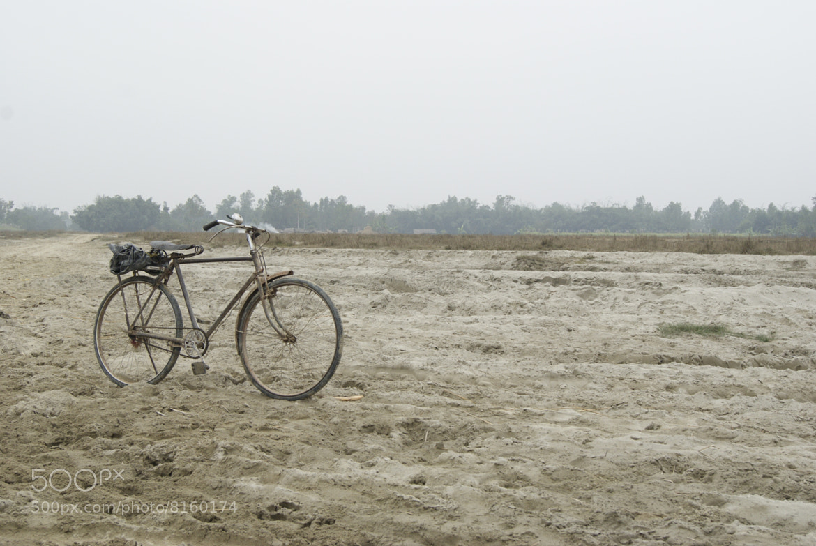Photograph Bicycle in sand by Afzal Khan on 500px