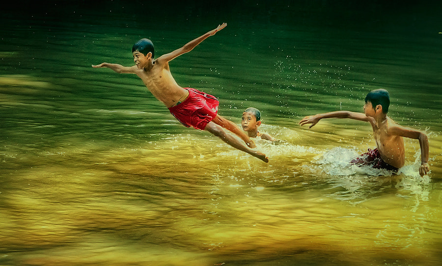 Photograph I believe I can fly... by Vincent Chung on 500px