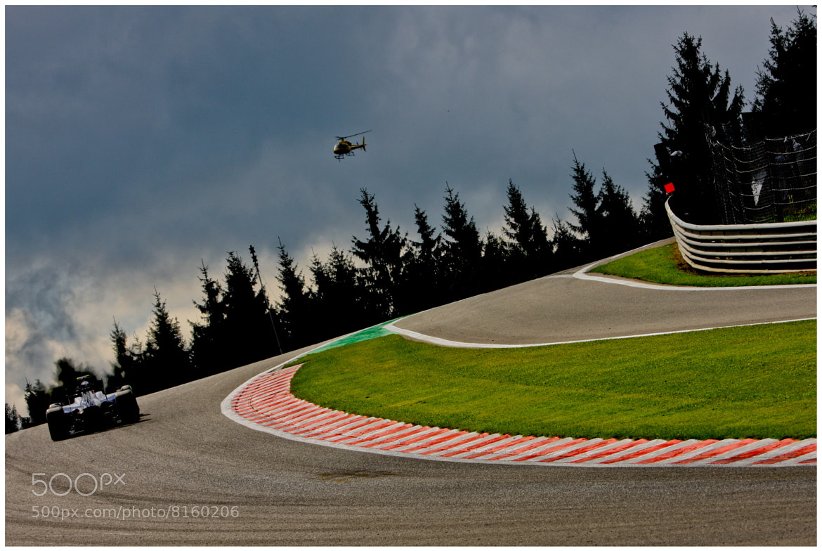 Photograph Raidillon - GP F1 Spa 2009 by Bruno Vandevelde on 500px