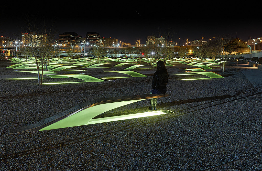 Photograph The Lonely Tourist at Pentagon Memorial by Metro DC Photography on 500px