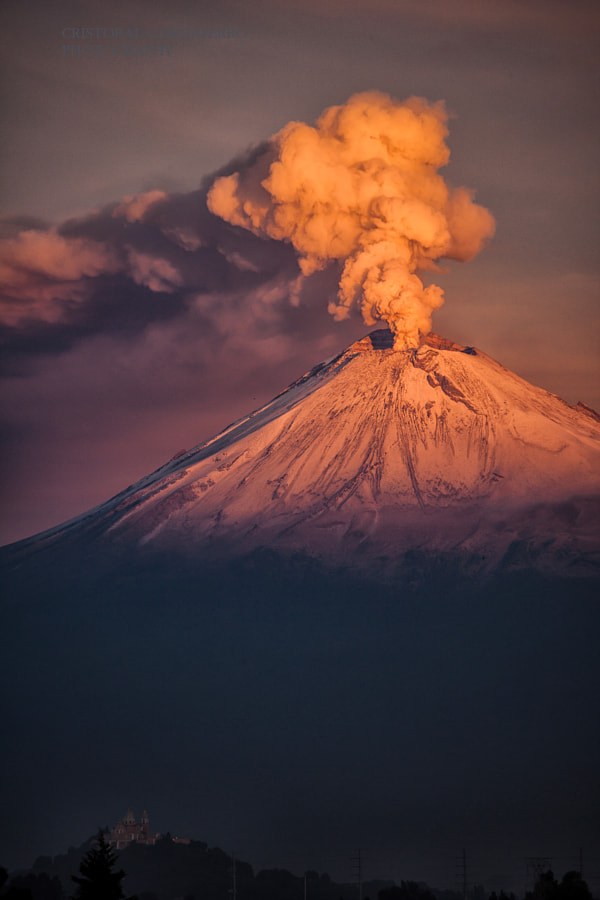 Photograph Eruption in the morning by Cristobal Garciaferro Rubio on 500px