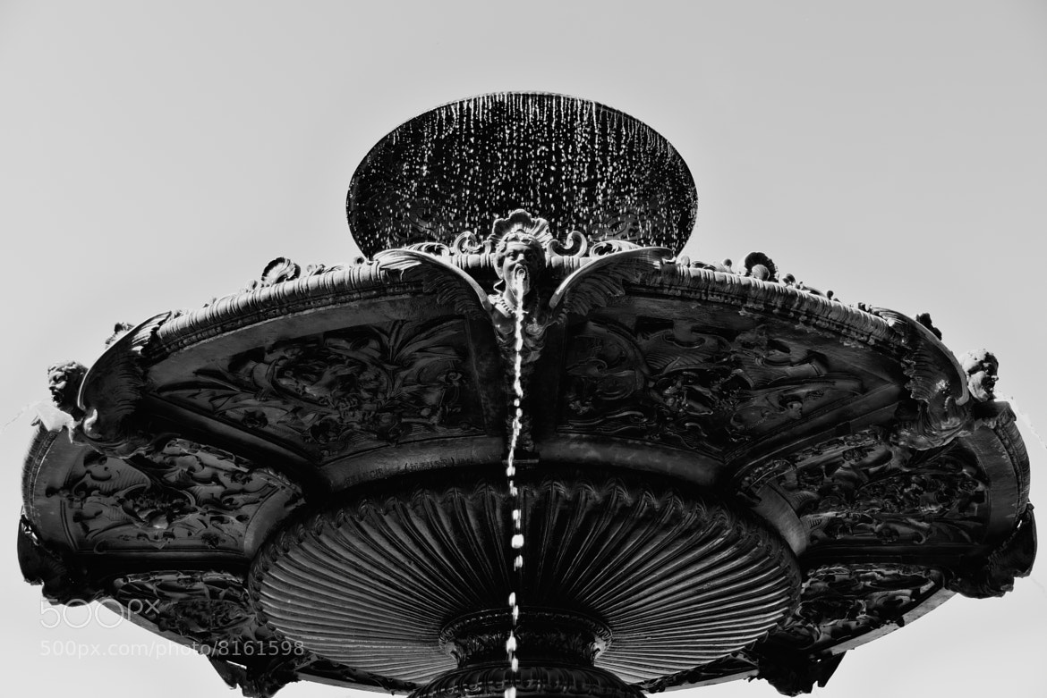 Photograph Detail of a fount by John Fields on 500px