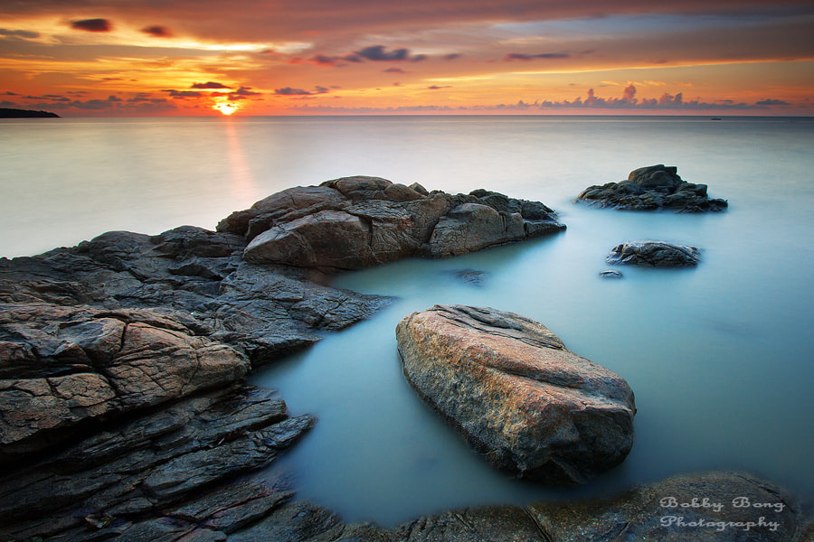 Photograph Sunset in Silent by Bobby Bong on 500px