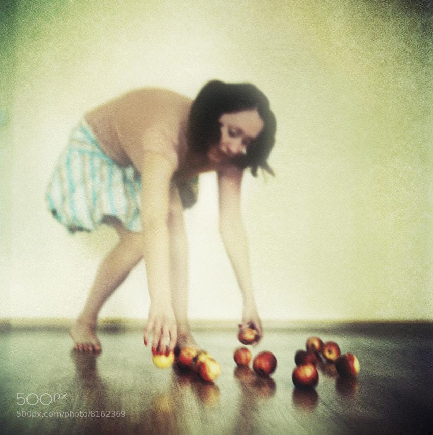Photograph Girl with apples by Silvia Georgieva on 500px