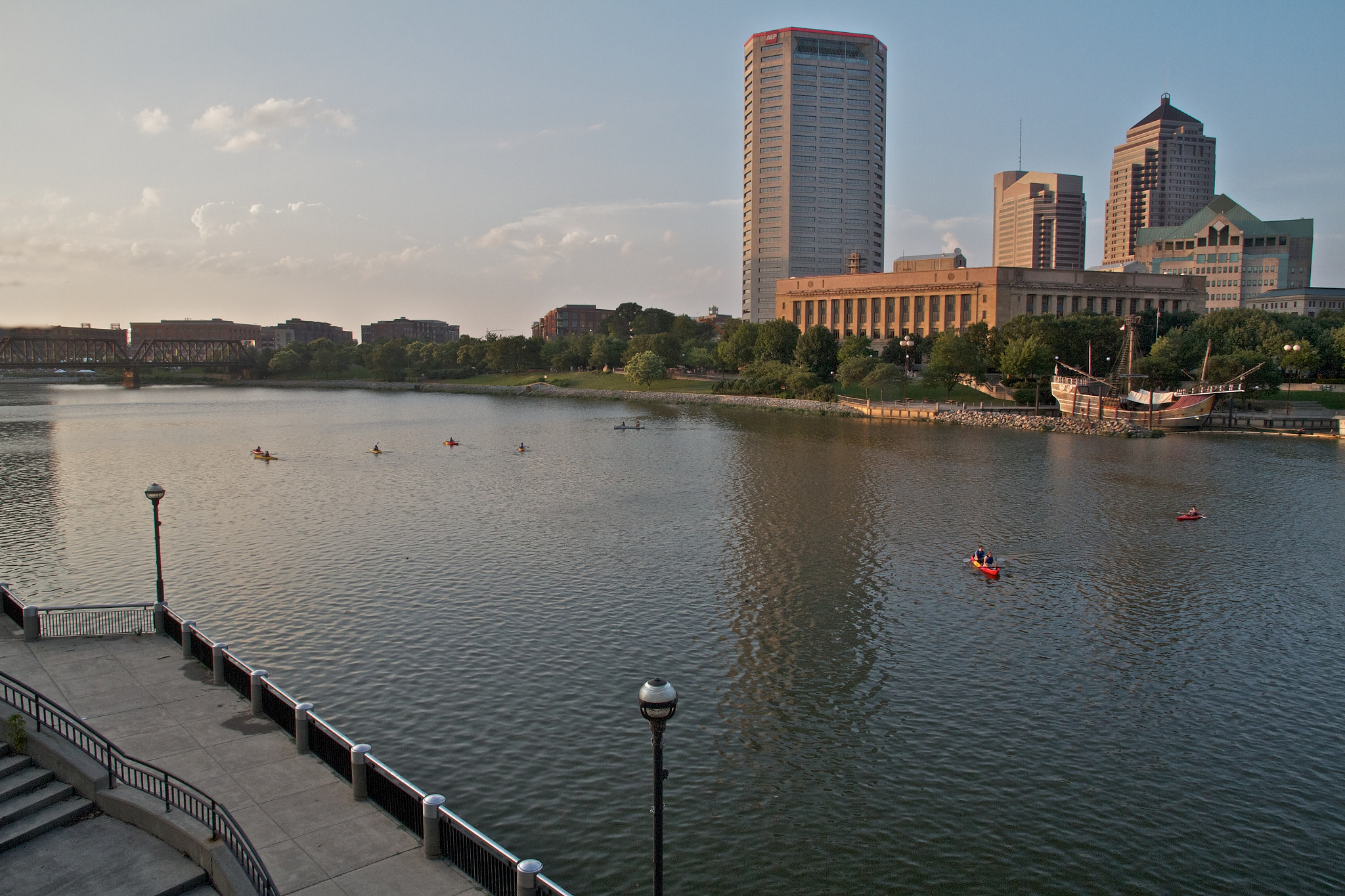 Photograph Scioto Mile Sunset by Aaron Sheldon on 500px