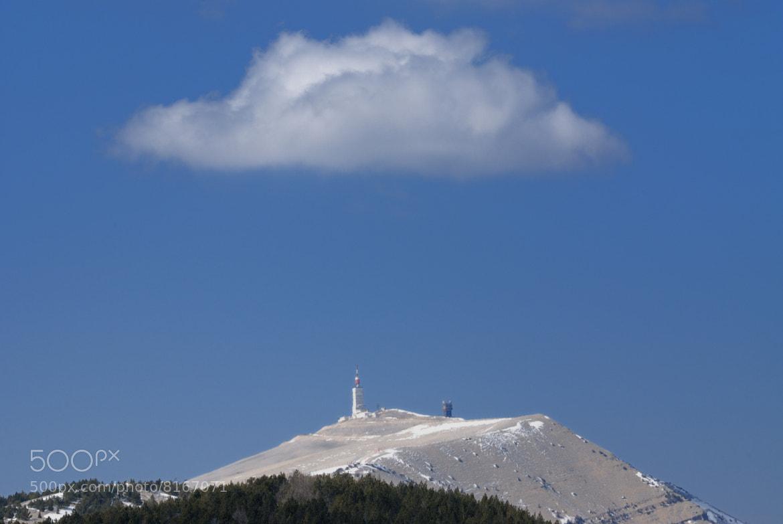 Photograph Mont Ventoux under the cloud by Christophe Lafont on 500px