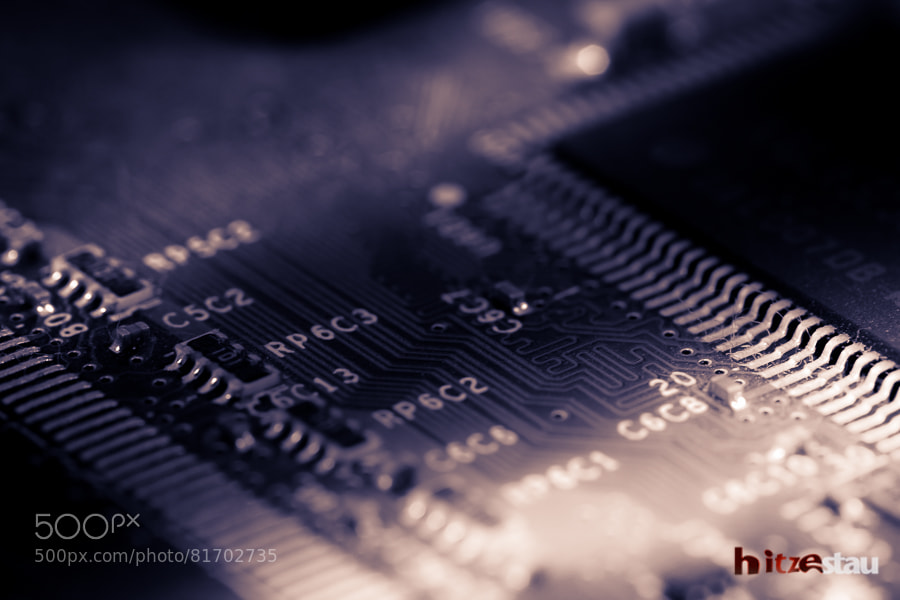 Photograph Just an Old Motherboard... by hitzestau on 500px
