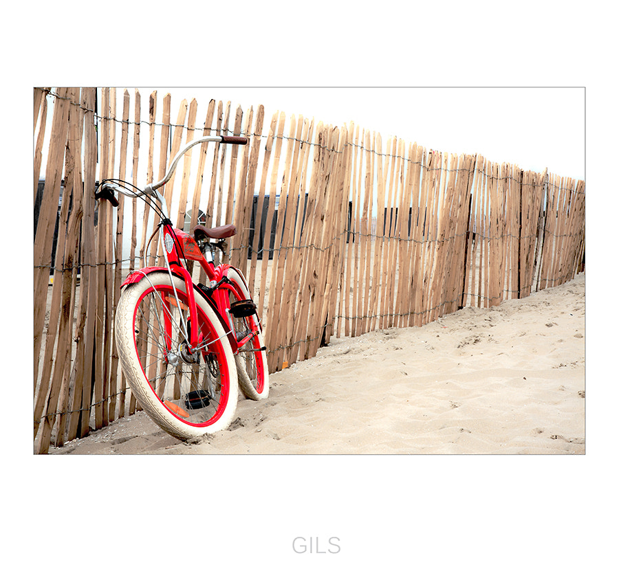 Photograph red bike by Gilbert Claes on 500px